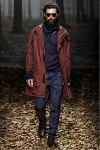 trussardi sfilata uomo autunno inverno 13 14